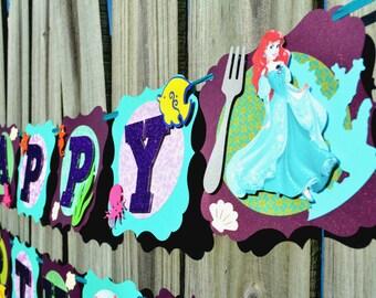 Ariel banner | Etsy