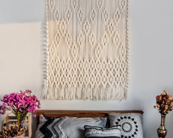 large macrame wall hanging bedroom nursery decor boho macrame wall hanging large macrame wall hanging vintage