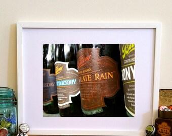 Bruery Bottles Print