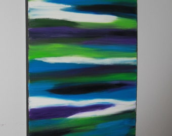 Spirit World Original Art Oil Painting 16x20