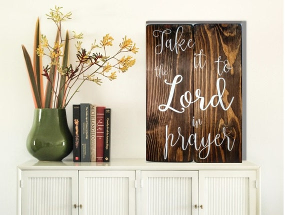 Christian Wall Art Christian Wood Signs Take It To The