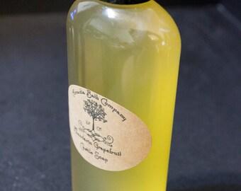 Castile soap, Mandarin Grapefruit 8oz liquid soap