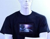 Bowie T-shirt - David Bowie Tribute T-shirt - Major Tom T-shirt Design - Space Race