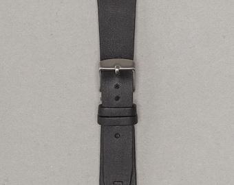 The Ambassador | 20mm Vintage Leather Watch Strap