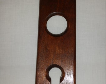 Wine Holder Wood Curly Cherry