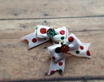 Holiday Ear Bows (Pair)