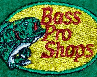 Bass Pro Shops Embroidered Patch