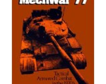 Mechwar '77, Tactical, Armored Combat, in the 1970s, SPI Designers Edition, Historical, Simulation Game, Vintage Board Game, War games