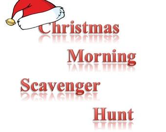 Auntie Lisha's Christmas Morning Scavenger Hunt