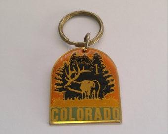 Vintage Colorado Keychain