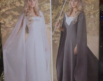 Medieval / Elven Gown Pattern - XS-M