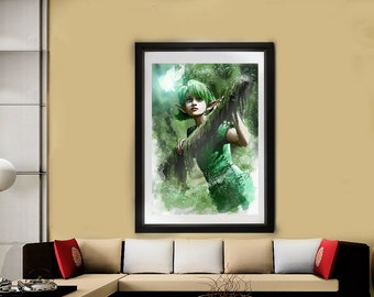 Remember the Forest // Ocarina of Time // Legend of Zelda // Nintendo 64 // Saria // Forest Temple //  Best Friend Gift