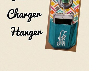Personalized Phone Charger Hangers