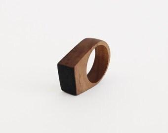 Walnut Wood Ring