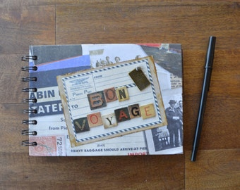 Bon Voyage Travel Journal and Sketch book