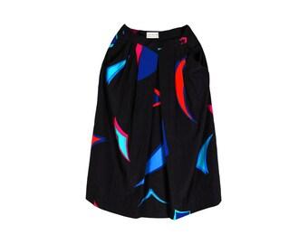 Vintage 80s skirt - Size 6 skirt - Vintage skirt - 80s skirt - Jons New York skirt - Womens vintage - Knee lenght skirt