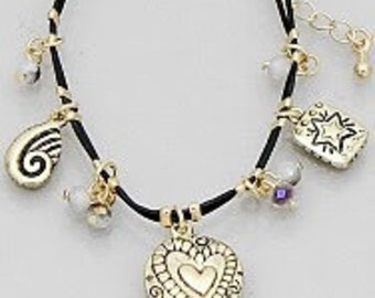 Heart Stackable Bracelet