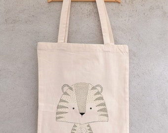 Tote Bag small Tiger - shopping bag
