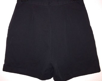 90s No Strings Attached High Waist Dress Shorts