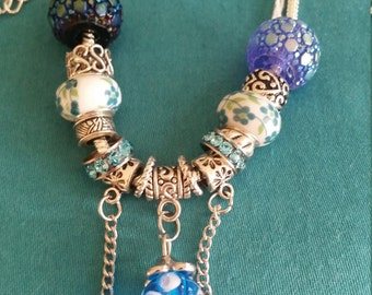 Morning Glory European Pandora Style Bracelet