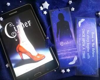 Cinder Bookmark - The Lunar Chronicles - Handmade