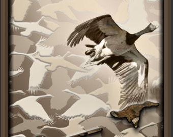 Goose Hunting Cornhole Wrap Bag Toss Decal Baggo Skin Sticker Wraps