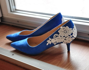 Blue wedding shoes | Etsy