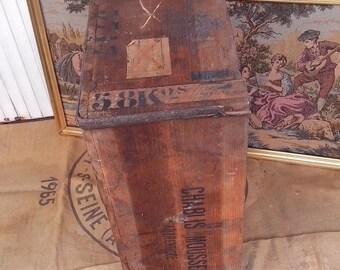 1860 wine crate