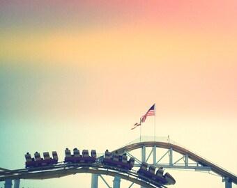 Roller Coaster, Santa Monica Pier