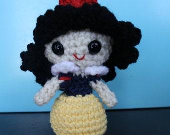 Snow White Amigurumi Crochet Doll