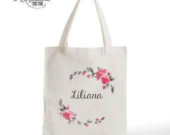 Tote Bag first, romantic gifts for her, gift for Valentine