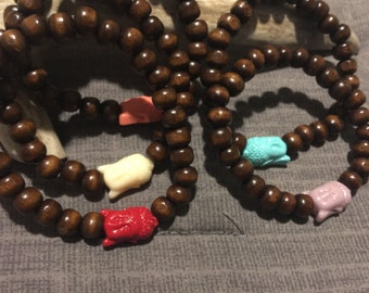 Hindu budah sacret wooden beads