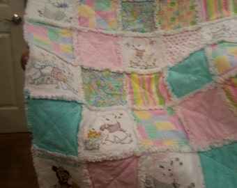 Children Rag Blanket