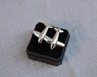Airplane Cufflinks, Cufflinks for men, Mens jewellery, Cufflinks Steampunk, Wedding cuff links , Groom, Best Man Gift, Ideas Gift for men