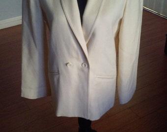 Patty Woodard 70s Pure Virgin Wool Blazer