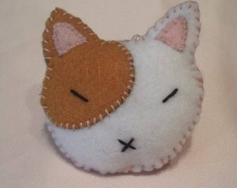 Cute cat hair clip
