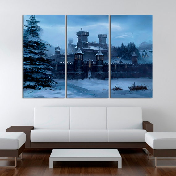 Winterfell castle Game of Thrones House Stark Home