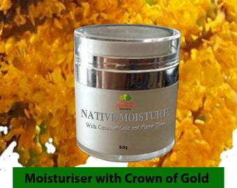 Native Moisturizer Cream Gel with Australian natural skin care extracts such as Crown of Gold, Desert Lime and other goodies