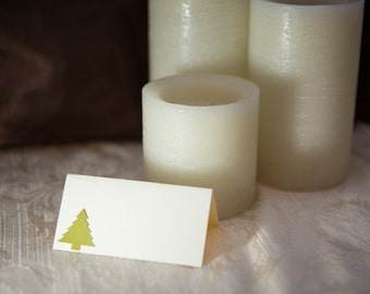 Custom Place Cards, Wedding Place Card, Elegant Place Card, Tree Place Card, Christmas Tree Place Card, Escort Card, Wedding Table Card