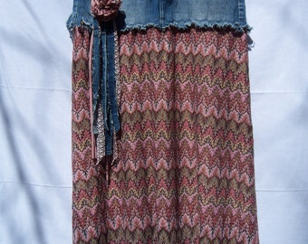 Upcycled American Eagle Skirt