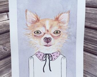 "8 x 10"" PET  CUSTOM Ilustration"