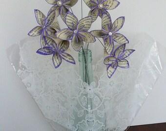 PASSIONATE PURPLE -- Kusudama Flowers