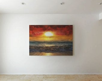 Sunset - Canvas decor
