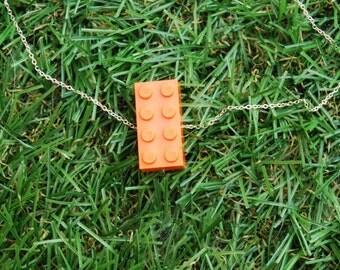 Orange Brick 2x4