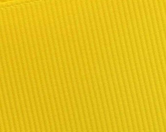 Yellow Grosgrain Ribbon     (05-##-S-124)