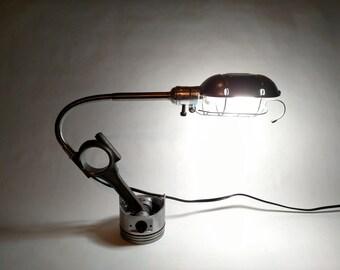 Piston Light - Industrial Gooseneck Desk Lamp
