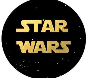 Star Wars Mini Cupcake Topper