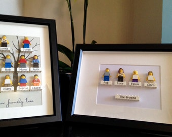 T's personalised Lego Art