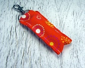 Orange Burst Lip Balm Holder for Pediatric Cancer Research