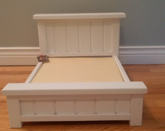 Farmhouse Doll Bed Made to Fit  18 inch Dolls